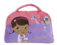 Doc McStuffins Doctor's Bag Shaped Cushion Pillow & Bag to Go